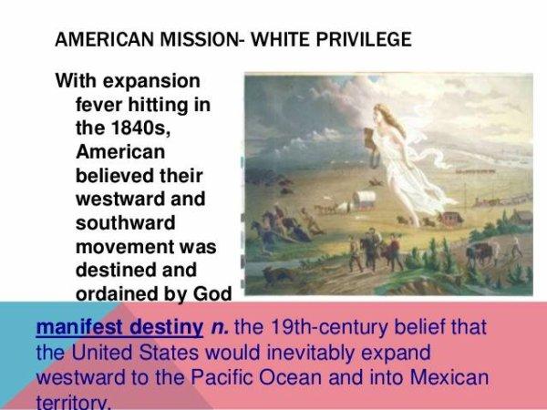 LA MISSION DES AMERICAINS ET LA SUPREMATIE BLANCHE