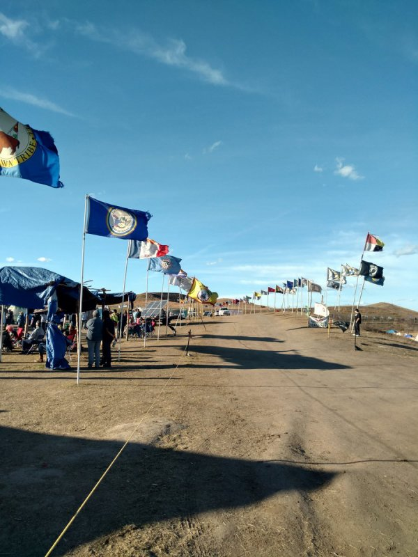 Dans le Dakota, le mouvement antipipeline violemment réprimé