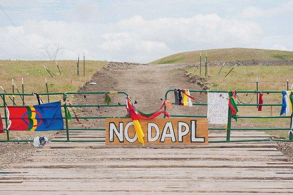 Les Sioux du Dakota du Nord se battent pour leurs droits
