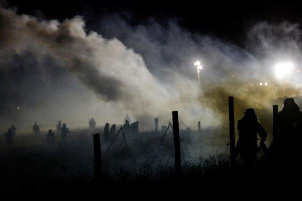 """L'âpre combat des Sioux contre """"le serpent noir"""" du Dakota du Nord"""