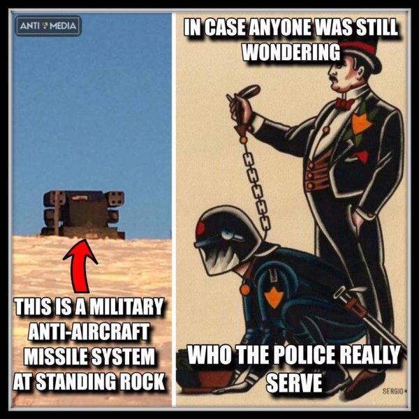 VOICI LES ARMES DEPLOYEES A STANDING ROCK PAR LA POLICE DU NORD DAKOTA CONTRE LES MANIFESTANTS NATIFS PACIFIQUES QUI CHANTENT ET QUI PRIENT