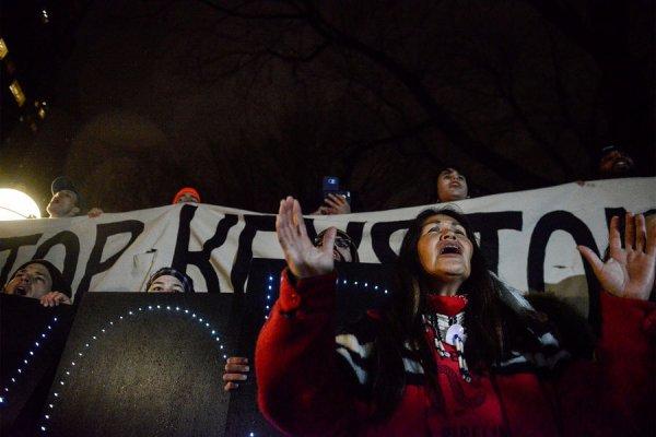 Face à Trump, les Sioux forcés à reprendre le combat