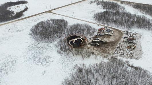 Déversement : une odeur de pétrole détectée il y a une semaine, selon la communauté autochtone touchée