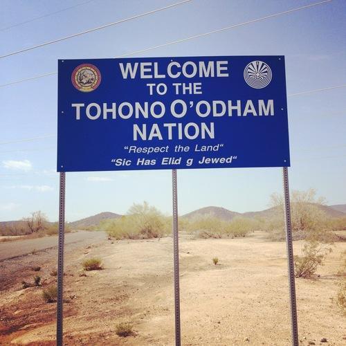 REFUS DE LA NATION NATIVE TOHONO O'ODHAM DE CONSTRUIRE UN MUR LA SEPARANT DU MEXIQUE