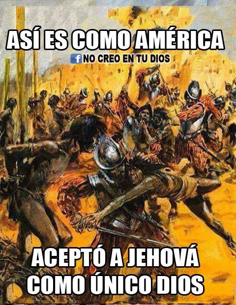C'EST COMME CA QUE L'AMERIQUE A ACCEPTE JEHOVAH COMME DIEU UNIQUE