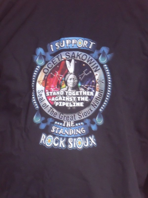 I SUPPORT STANDING ROCK. MNI WICONI ( water is life)
