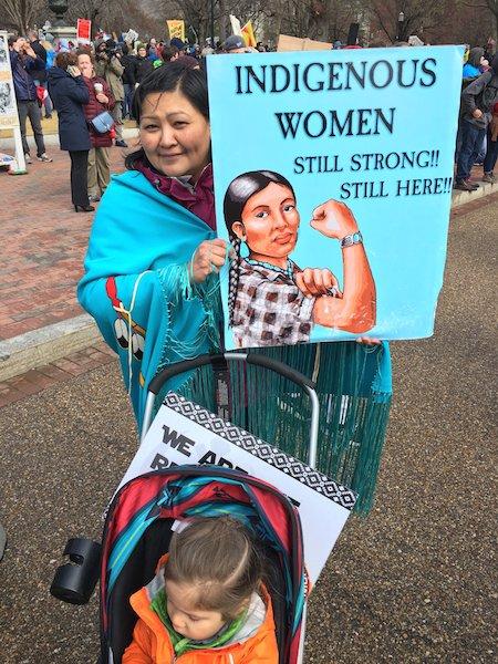 Des milliers d'Amérindiens manifestent à Washington contre l'oléoduc Standing Rock et pour protéger la Terre (suite et fin de l'article)