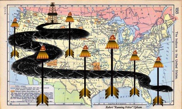VOICI COMME LES NATIFS AMERINDIENS VISUALISENT LES PIPELINES SUR LEUR TERRITOIRE D'APRES UNE PROPHETIE