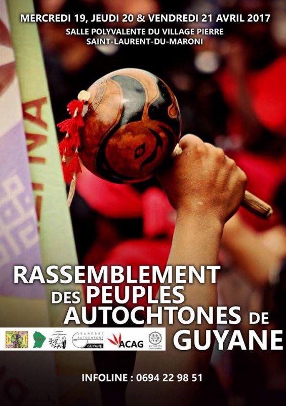 Rassemblement des Peuples Autochtones de Guyane