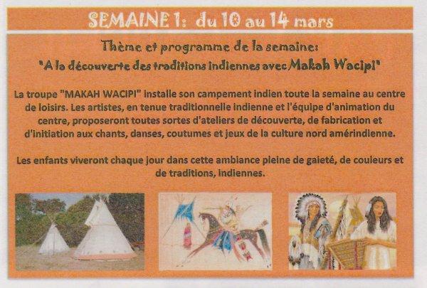 ANIMATION AMERINDIENNE DU GROUPE MAKAH WACIPI AU CENTRE DE LOISIRS DE PLEUMEUR-BODOU (22) 10