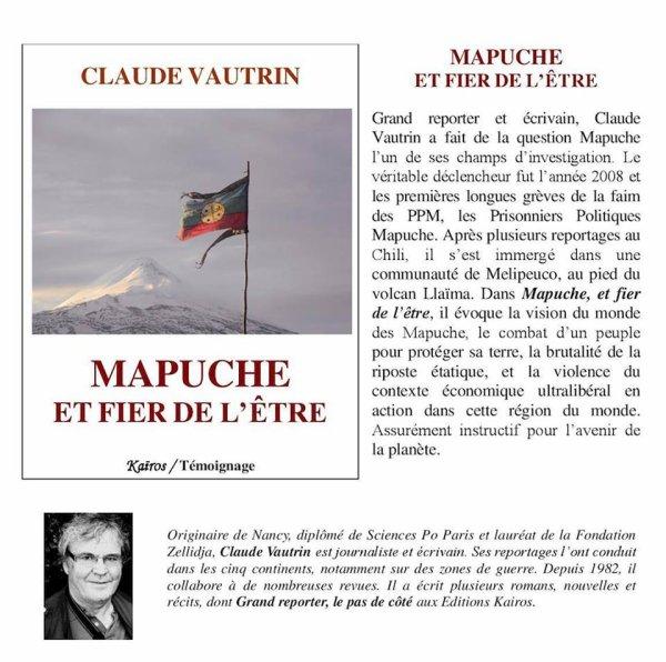 MAPUCHE ET FIER DE L'ËTRE