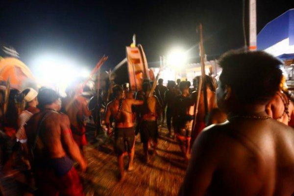 LE PEUPLE MUNDURUKU EXIGE LA COMPENSATION POUR LA DESTRUCTION DE SES LIEUX SACRES