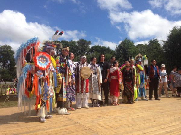 MANIFESTATION NATIONS INDIENNES A LANGUIDIC 2