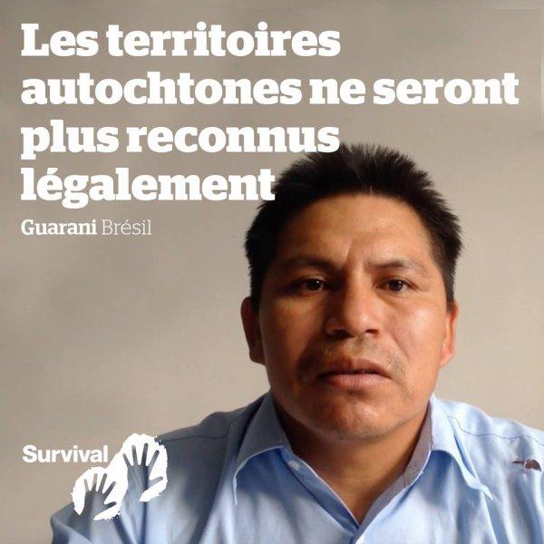 LES TERRITOIRES AUTOCHTONES NE SERONT PLUS RECONNUS LEGALEMENT