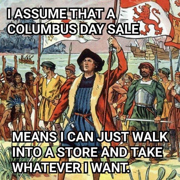 COLOMBUS DAY le jour de christophe colomb