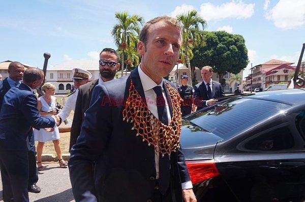 Les peuples premiers fustigent Emmanuel Macron