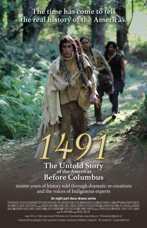 FILM série 1491 ou l'histoire non dite des amériques avant christophe colomb
