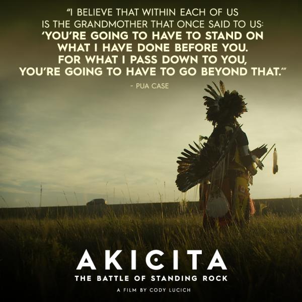 AKICITA la bataille de Standing Rock
