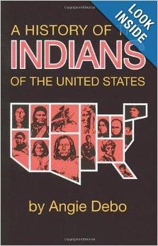 L'histoire des indiens des états unis par ANGIE DEBO