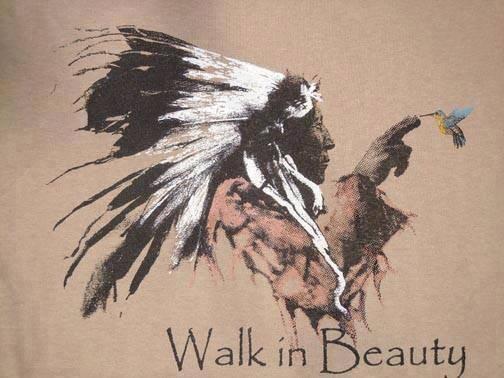 WALK IN BEAUTY marche dans la beauté