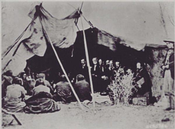 150 ème anniversaire des traités de LARAMIE