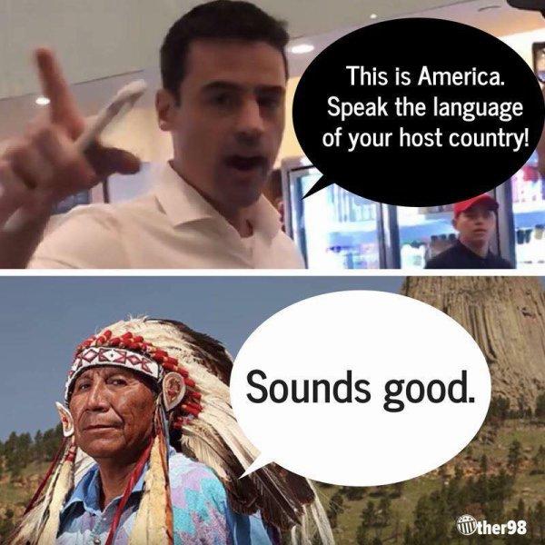la langue du pays qui vous accueille