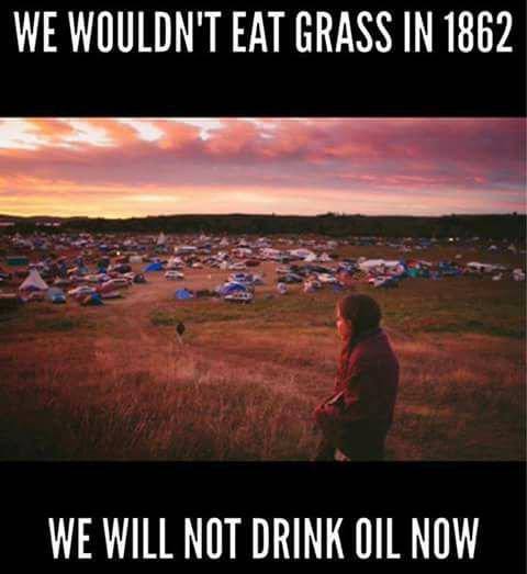 Nous ne voulions pas  manger d'herbe en 1862 et nous voulons encore moins boire du pétrole maintenant