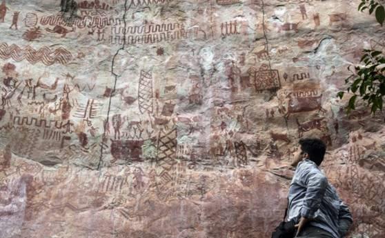 Colombie: la paix dévoile des merveilles d'art rupestre cachées dans la jungle