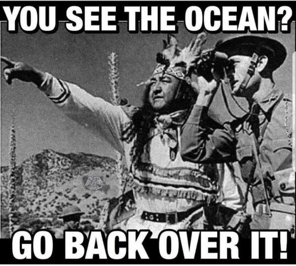 TU VOIS L'OCEAN LA????