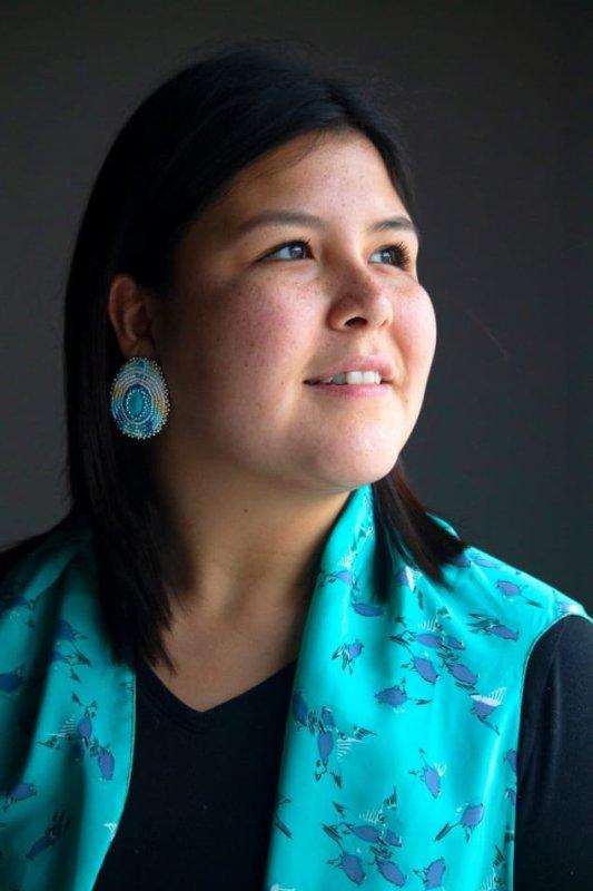 Une photo choc pour dénoncer l'assassinat de femmes autochtones au pays