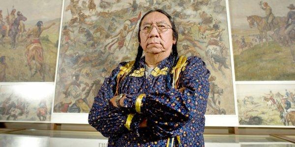 La leçon de spiritualité de l'arrière-petit-fils du chef Sioux Sitting Bull 3323712614_1_2_S3myMQ45