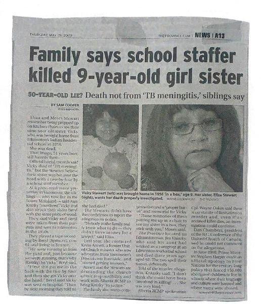 CRIMES ET CRIMINELS DANS LES BOARDING SCHOOLS