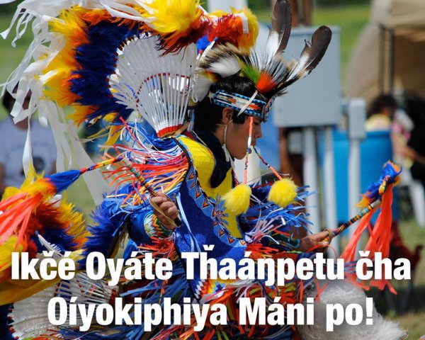 """""""It is Indigenous People's Day so Enjoy Yourselves"""""""