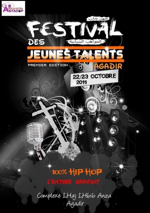Résultats des participants Du Festival Des jeunes Talents Agadir..