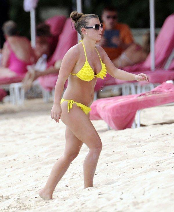 Coleen & Wayne Rooney en Barbados