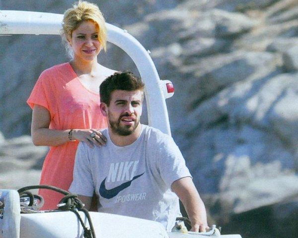 Gerard Piqué & Shakira