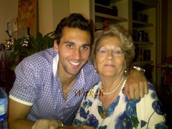 Álvaro Arbeloa & su abuela