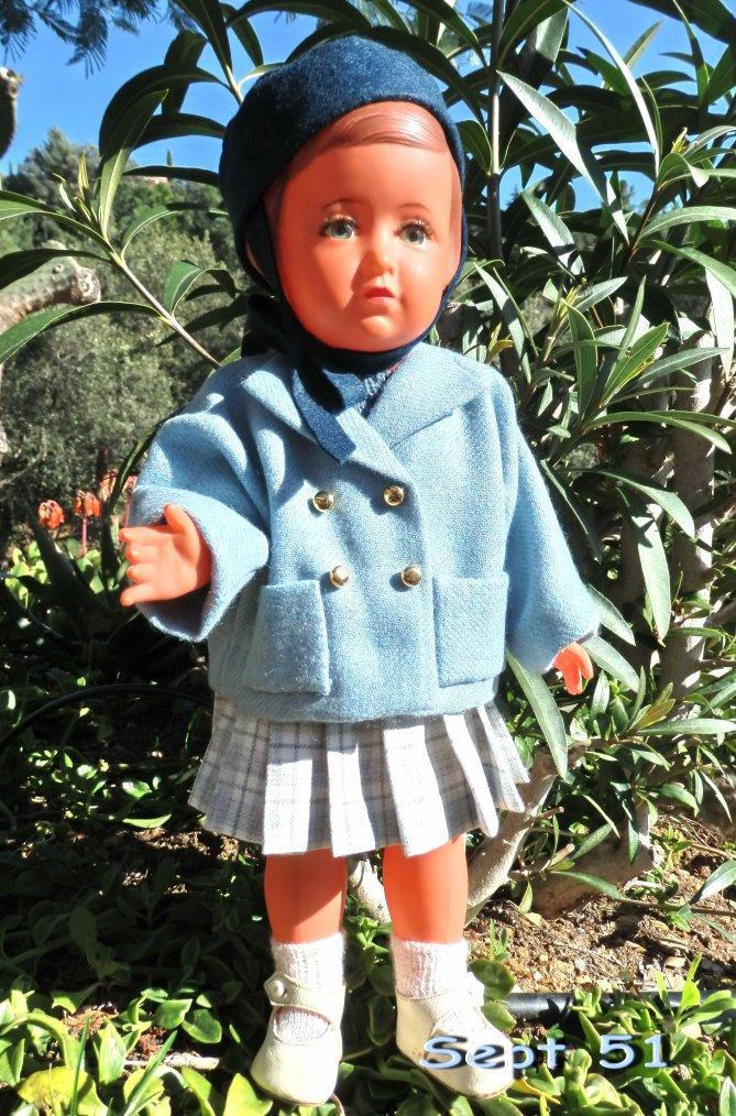 Petite veste kimono de septembre 51 pour Jolie Françoise