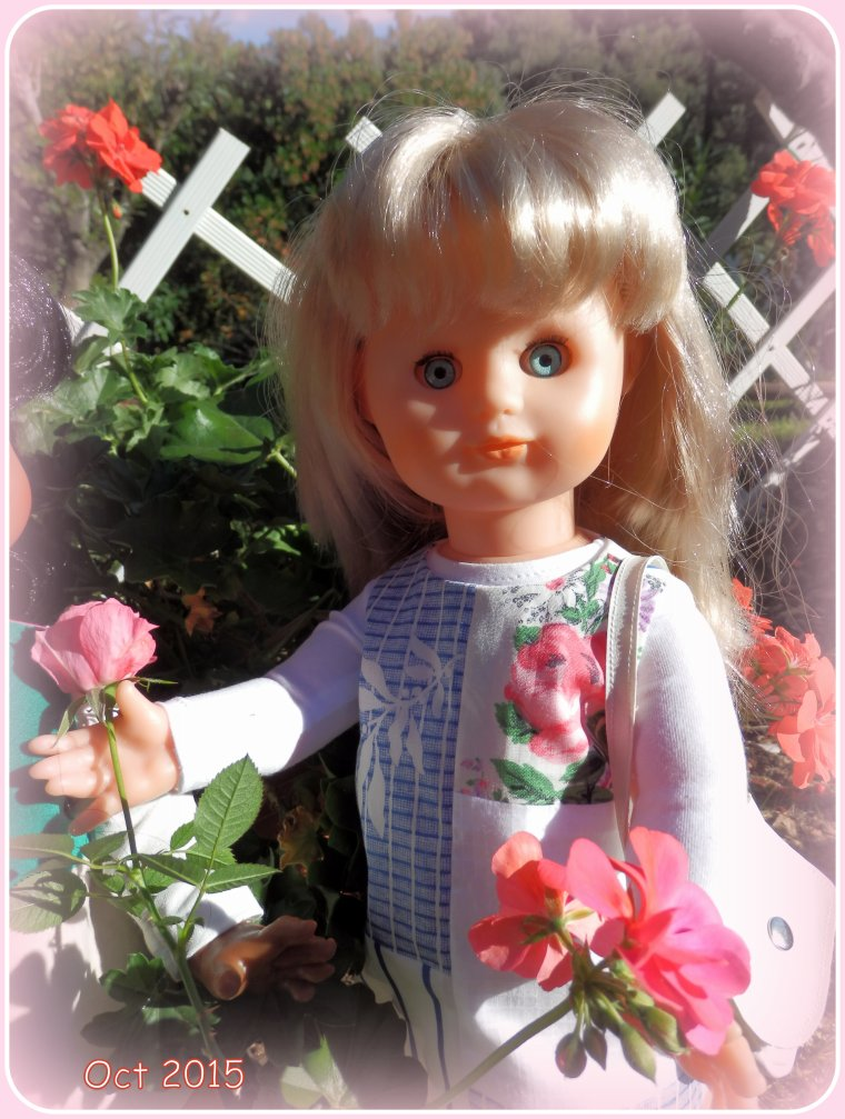 Les dernières roses du jardin : OCTOBRE 2015