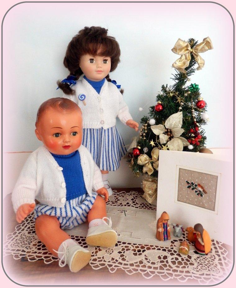 Marie-Françoise et Michel sont heureux .....