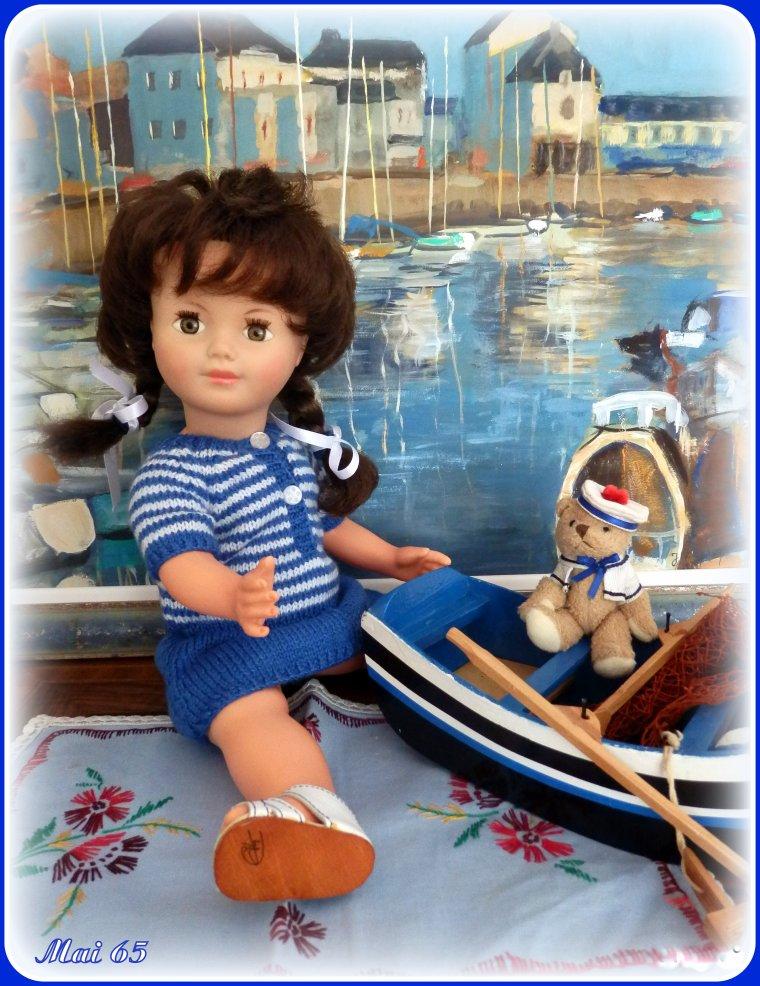 Marie-Françoise vous souhaite un bon mois d'août !
