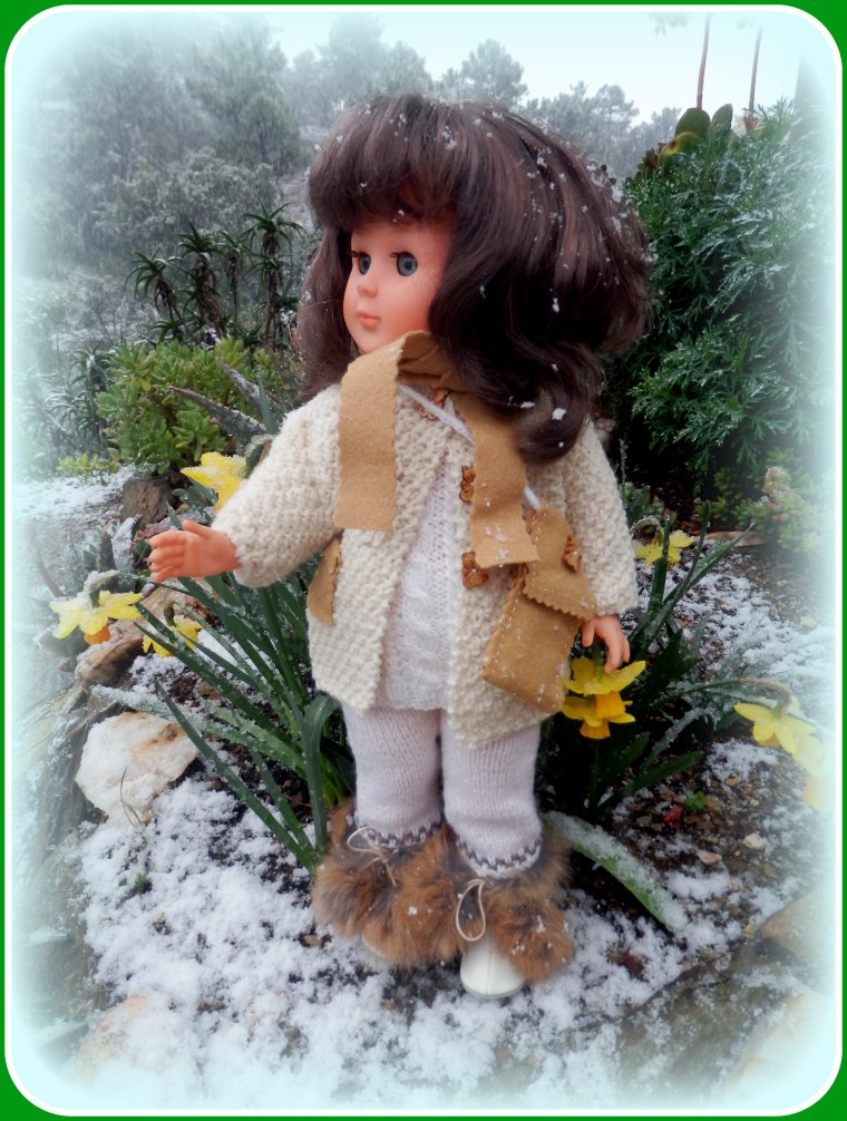 Ici aussi, parfois, il neige ! !