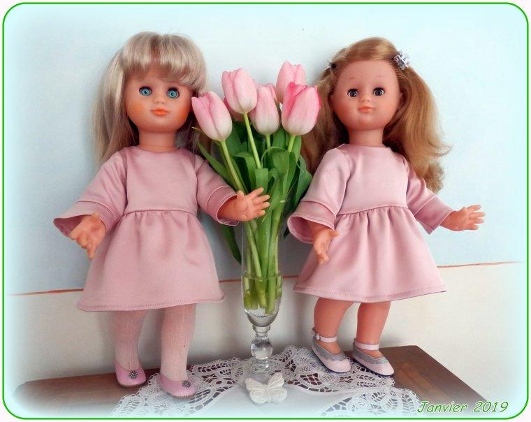 Deux blondinettes en JAN 2019 !