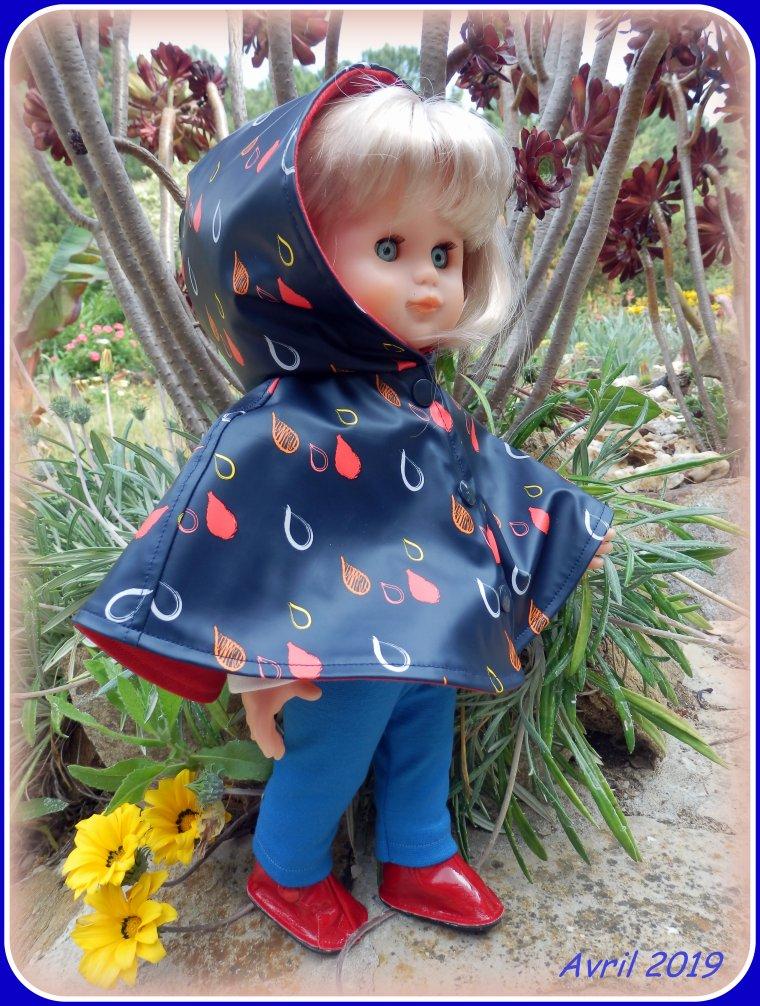 La petite cape d'avril, ce n'est plus de saison, je sais ! ! !  ;-)