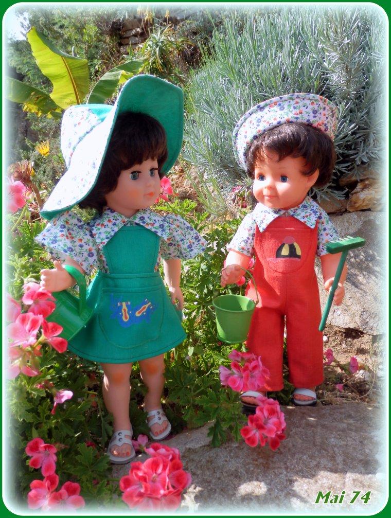 C'est l'été aussi, pour les petits jardiniers !