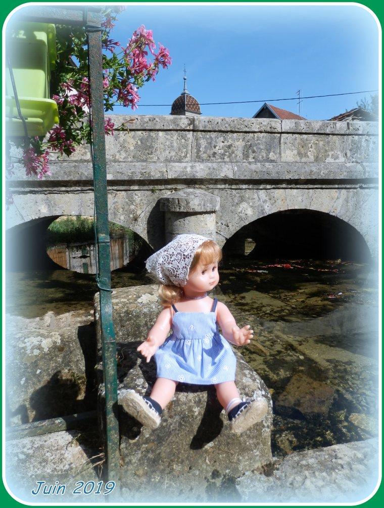 A la fontaine St Desle à Esprels (Hte-Saône)