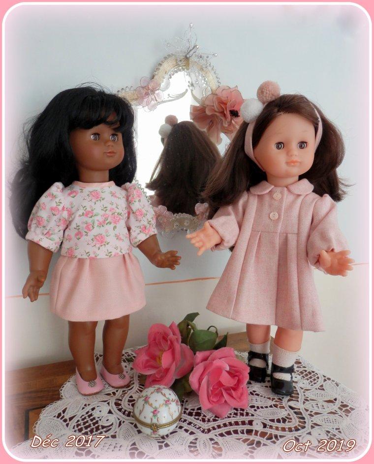 Les petites aiment le rose ......