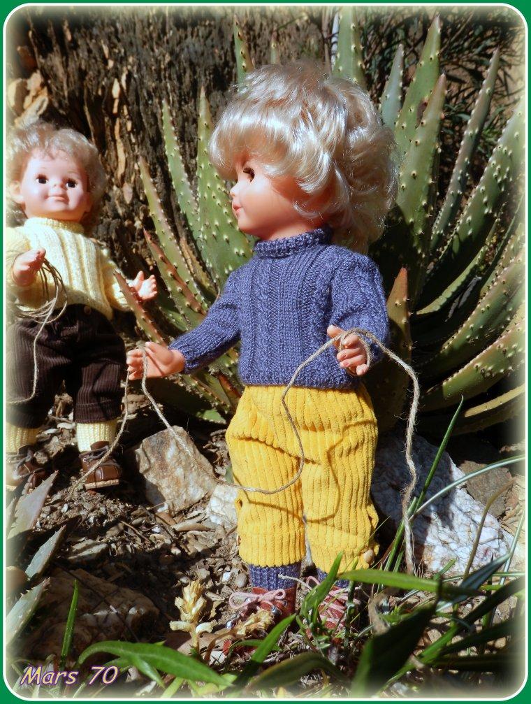 MARS 70 : PÂQUES à la montagne ou plutôt escalade dans le jardin !