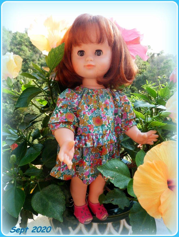 Emilie dans les pots de fleurs ! ! Septembre 2020