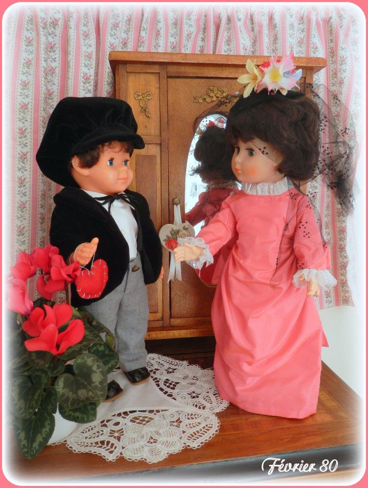 Les beaux amoureux de février 80 !